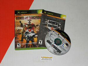 Original Xbox Game ARMED and DANGEROUS -- Complete Game