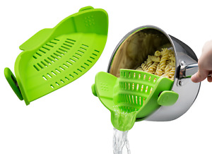 Easy Use Great Pasta Strainer,Fit for Most pot/pan, Hot Resistant