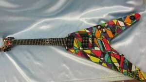 Dean Michael Schenker Kaleidoscope Electric Guitar Deformed Body