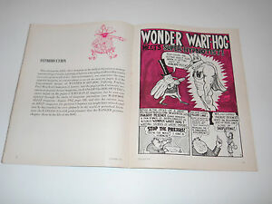 Wonder Wart-hog U. of Texas RANGER Magazine Sept. 1962 Gilbert Shelton comic