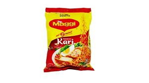 MAGGI MI CURRY  395GM - (5 IN 1) COOKING ONLY 2 MINUTE
