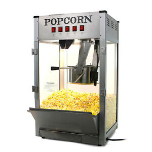 Paramount 16oz Commercial Popcorn Maker Machine - 16 oz Kettle Popper [Silver]
