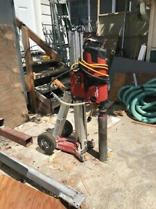 hilti core dril Very Nice Work Very Good Condition A+