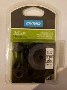 DYMO Standard D1 Labeling Tape, LabelManager Label, 3/4