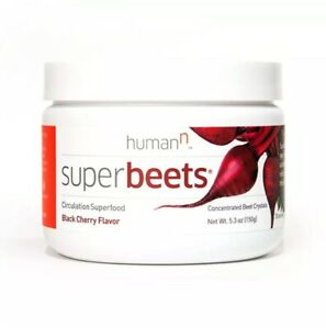 HUMAN N Superbeets Black Cherry Canister 5.3 Ounce 5.3 OZ EXP 03
