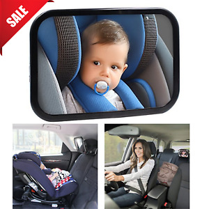 BABY MIRROR Back Seat For Car Infant View Rear Facing Newborn Safety 360 Degree