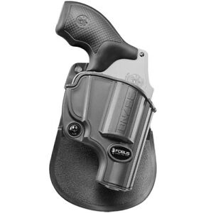 Fobus 357ND Paddle Holster Smith & Wesson Model 442, 637, 638, 642 LS, 640, 60LS