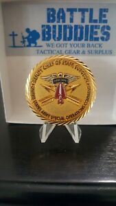 US SPECIAL OPERATIONS COMMAND DEPUTY CHIEF OF STAFF SURGEON CHALLENGE COIN #199