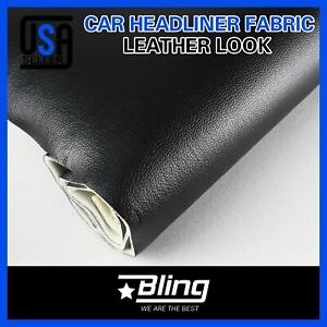 Headliner Fabric Faux Leather Auto Sagging Headlining Vinyl Upholstery Back Foam