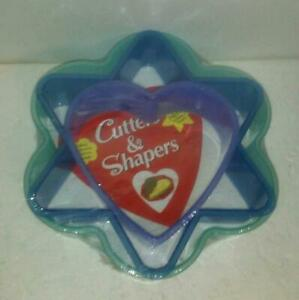 Cutters Shapers Brownies Cake Fudge Dough Pastry Heart Star Flower Baking