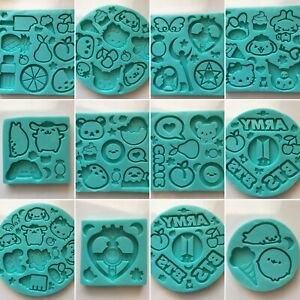 Kawaii Silicone Molds for Resin Crafts