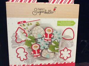 SWEET SUGARBELLE WINTER COOKIE CUTTER SET 14 PCS - BY AMERICAN CRAFTS  #350352
