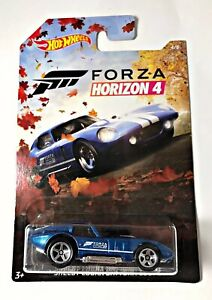 NEW 2019 Hot Wheels Forza Horizon 4 Shelby Cobra Daytona Coupe