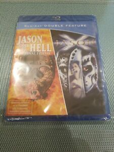 Jason goes to Hell + Jason X  BLURAY English Audio German import Region Free New