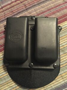 Fobus Double Magazine Pouch - Glock, H&K USP 9mm/.40 - 6900 RT