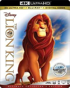 Lion King The Signature Collection (4K UHD + Blu Ray + Digital)  **SEALED**