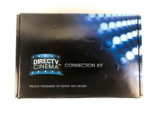 New DirectTV Direct TV Cinema Connection Kit Complete with Box Cables