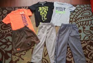Lot Under Armour Nike Toddler Boys Size 4T Shorts Shirts Pants
