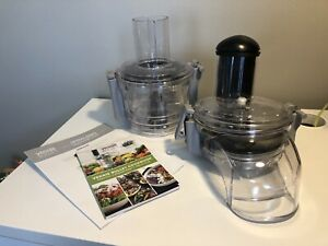 Veggie Bullet Electric Spiralizer and Food Processor Attachments