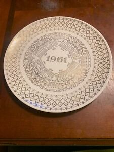 Antique 1961 Collector's Plate
