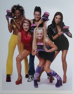 The Spice Girls 1997 Ultra Rare Large Original Publication Photo No 2