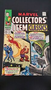 1968 MARVEL COLLECTORS' ITEM CLASSICS #17 COMIC FN- BAGGED & BOARDED