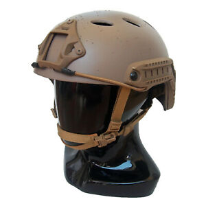 Carbon Fiber Tactical Bump Helmet ACH MICH OPS-Core FAST Crye Airframe