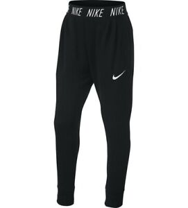 Nike Big Girls Studio Dri Fit Training Pants Black Size Small MSRP $45 NEW $21.95