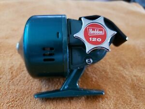 1-Rare Very Nice Antique Collectible Heddon Model 120 Spinning Fishing Reel USA!