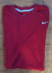 mens nike dry fit shirt Size Large excellent condition $14.99
