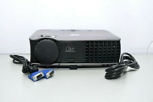Dell 2400MP DLP Projector 3000 ANSI Lumens 7 Used Lamp Hours