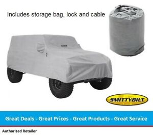 Smittybilt Full Climate Water Repellent Jeep Cover for Jeep JL Wrangler (4-door)
