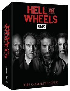 Hell on Wheels The Complete Series seasons 1-5(vol 1,2) DVD Box set 17 discs