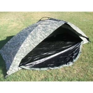 ICS ORC Improved Combat Shelter One Man Tent, ACU, USED U.S. Military issued