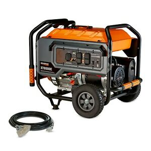Generac 6433 XT8000E 8000 Watt Electric Start Portable Generator 49 ST CSA