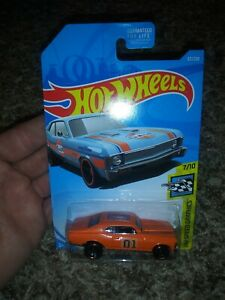 Hot Wheels custom Dukes of Hazzard General Lee Dukes of Hazzard 68 Chevy Nova