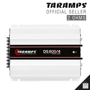 Taramps DS 800x4 2 Ohms Amplifier 800 Amp 4 Channel Compact Car USA Shipping $154.00