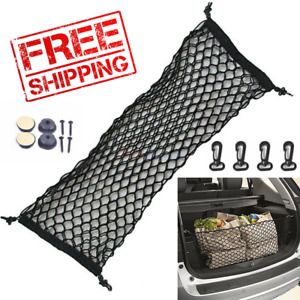 New 2019 Universal Cargo Boot Trunk Mesh Net For SUV Envelope Elastic Storage