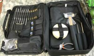 NcStar Essential Gunsmith Tool Kit for Rifle Pistol with Carry Case #TGSETK NEW!