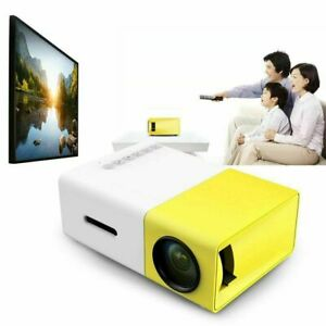 Mini Multimedia LED LCD Projector Full HD 1080P Home Theater USB For PC PS4 PS3