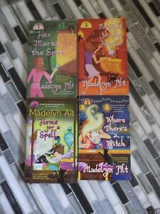 MADELYN ALT 4 Bewitching Cozy Mysteries with Magic in Stony Mill Indiana