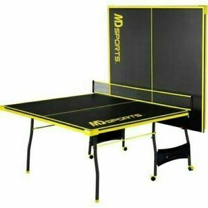 Official Size OutdoorIndoor Tennis Ping Pong Table 2 Paddles and Balls Included