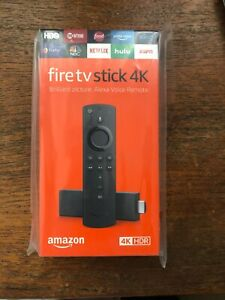 Brand New Amazon Fire TV Stick 4K HDR with All-New Alexa Voice and Volume Remote