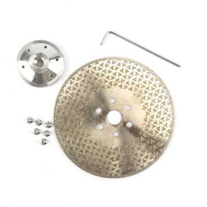 7Inch Double Side Diamond Cutting Disc Coated Grinding Wheel For Cutting Ceramic