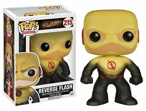 Funko Pop Tv: The Flash-Reverse Flash Action Figure Damaged Packaging