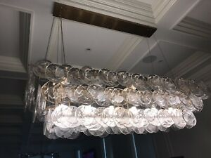 Ice Glass Chandelier Custom Design