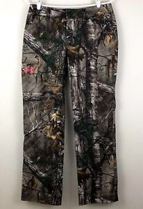NWT Womens UNDER ARMOUR Fitted UA HUNT Camo Hunting Pants Size 10 $79.99