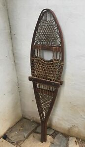 Antique Early 20th Century Large Snow Shoes