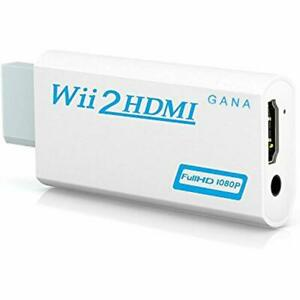 Wii To Hdmi Converter Gana Wii Adapter Hdmi1080p 720p Connector Output Video -
