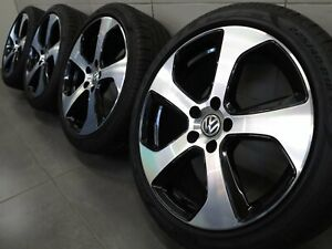 18 Inch Summer Wheels Vw Golf VI VII 6 7 Austin Design 5G0601025AS